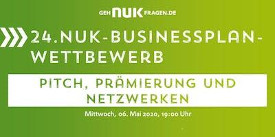 24. NUK-Businessplan-Wettbewerb! Pitch, Prämierung und Networking