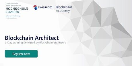 Blockchain Architect - Architect Training tickets