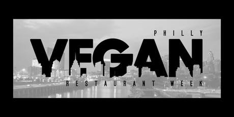 Philly Vegan Restaurant Week - Fall 2019 Edition tickets