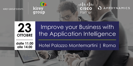 Improve your Business with the Application Intelligence biglietti