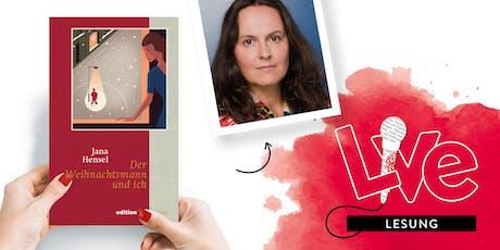 LESUNG: Jana Hensel Tickets