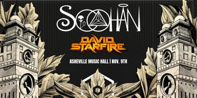 Soohan (2 Sets ft. Downtempo Set) + David Starfire  | Asheville Music Hall