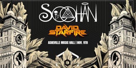 Soohan (2 Sets ft. Downtempo Set) + David Starfire  | Asheville Music Hall tickets