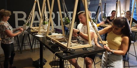 Knots'n'Hops™ Macramé Plant Hanger with Beer in Milton tickets