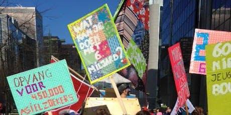 Protestborden maken - Festival van de Gelijkheid tickets