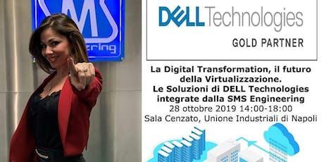 La Digital Transformation, il futuro della Virtualizzazione. biglietti