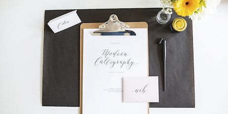 Intro to Modern Calligraphy in Leeds tickets