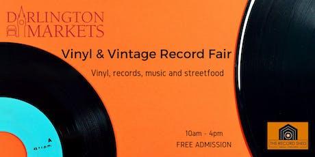 Darlington Vinyl and Vintage Fair tickets