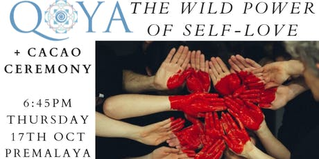 Qoya+Cacao-Dance/Yoga/Sensual Movement-The Wild Power of Self-Love tickets