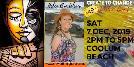 CREATE TO CHANGE ~ A Transformational Creative Safari  to the new YOU tickets