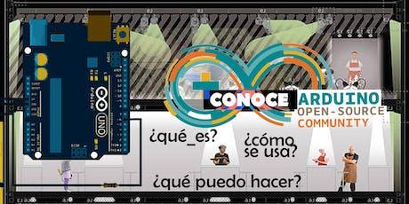 Conoce Arduino: WORKSHOP INTRODUCCIÓN en sala Lalola / Gràcia, Barcelona entradas