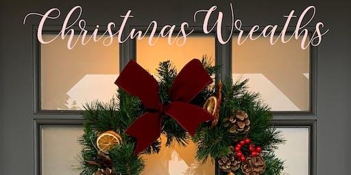 Christmas Wreath Making Workshop - Putney