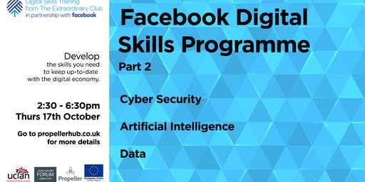Facebook Digital Skills Training Programme Part 2 - @UCLan Media Factory