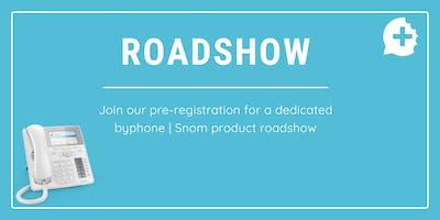 byphone | Snom roadshow pre-registration