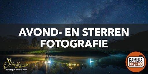 Avond- en sterrenfotografie bij Fort Pannerden