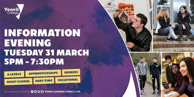 Yeovil College Information Evening - March 2020