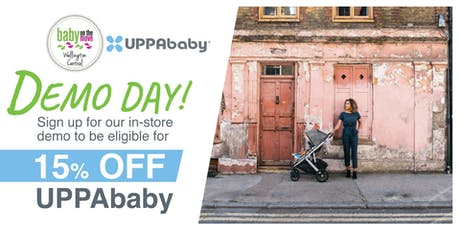 UPPABABY DEMO DAY @ Baby on the Move Wellington Central store, NZ tickets