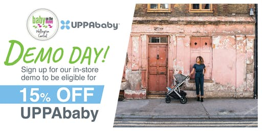 UPPABABY DEMO DAY @ Baby on the Move Wellington Central store, NZ