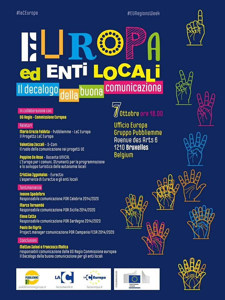 Immagine Europa ed enti locali. Il decalogo della buona comunicazione
