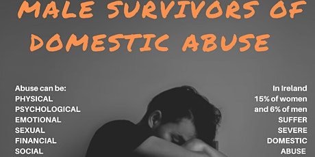 Male Survivors of domestic abuse group therapy-opening session tickets