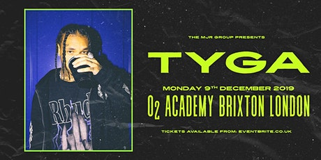 OLD EVENT - TYGA (O2 Academy Brixton, London) ** POSTPONED tickets