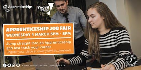 Yeovil College Apprenticeship Job Fair 2020 tickets
