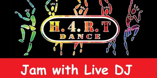 H4RT Dance in Brighton -Jam Session with Live DJ