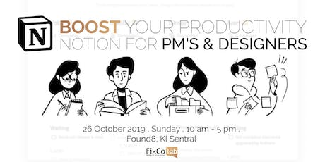 Supertools Assemble | Notion for PM's & Designers tickets