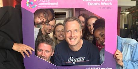 Croydon Commitment Business Open Door Month - Waitrose tickets