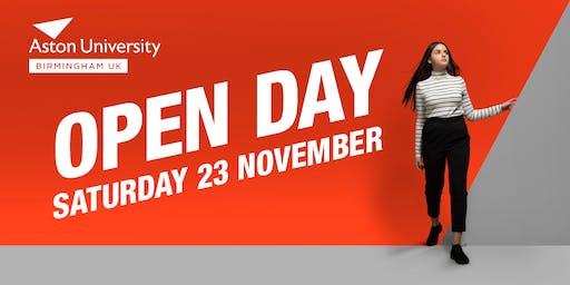 Open Day - November 23