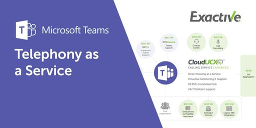 Microsoft Teams - Telephony as a Service Evolved