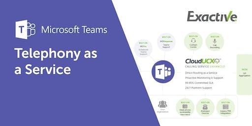 Microsoft Teams - Telephony as a Service Evolved