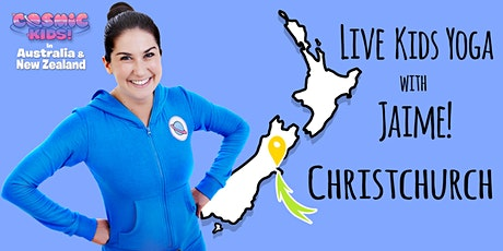Live Kids Yoga with Jaime in Christchurch tickets