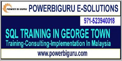 Microsoft SQL training in GEORGE TOWN, Malaysia