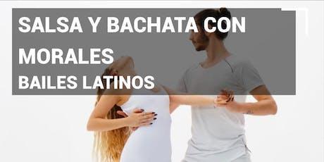 Bailes latinos Salsa y bachata con Morales en Pause&Play La Verónica entradas