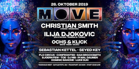 MOVE with Christian Smith, Ilija Djokovic, Ochs & Klick Tickets
