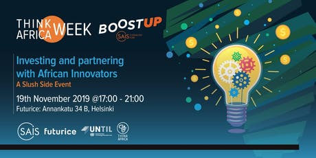 Investing and partnering with African Innovators tickets