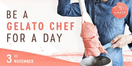 Be a Gelato Chef for a Day (3rd November) tickets