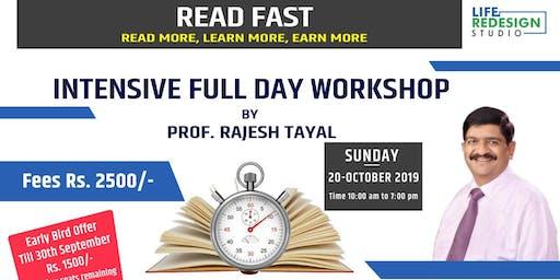 Read Fast Learn More Workshop