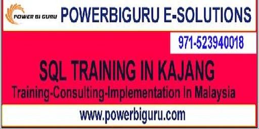 Microsoft SQL training in KAJANG