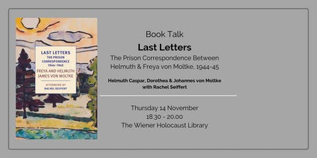 Book Talk: Last Letters tickets