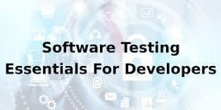 Software Testing Essentials For Developers 1 Day Virtual Live Training in Eindhoven