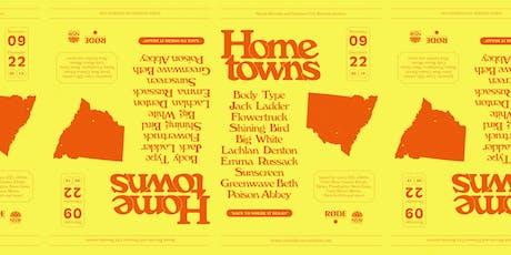 Hometowns | Coalchella with Jack Ladder, Body Type, Shining Bird, Big White, Flowertruck and more tickets
