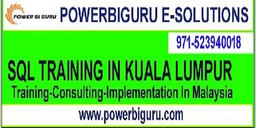 Microsoft SQL training in KUALA LUMPUR