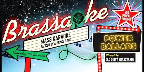 Brassaoke: Power Ballads! tickets