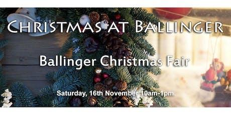 Ballinger Christmas Fair tickets
