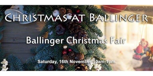 Ballinger Christmas Fair