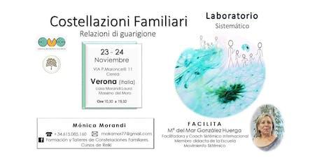 Laboratorio Costellazioni Familiari - Constelaciones Familiares biglietti