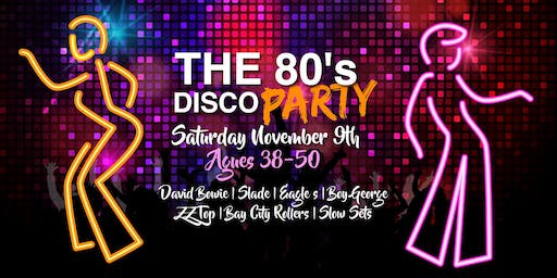 The DISCO PARTY Ages 38-50