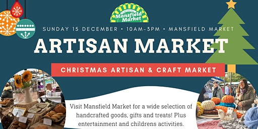 Artisan and Craft Market - Christmas 2019